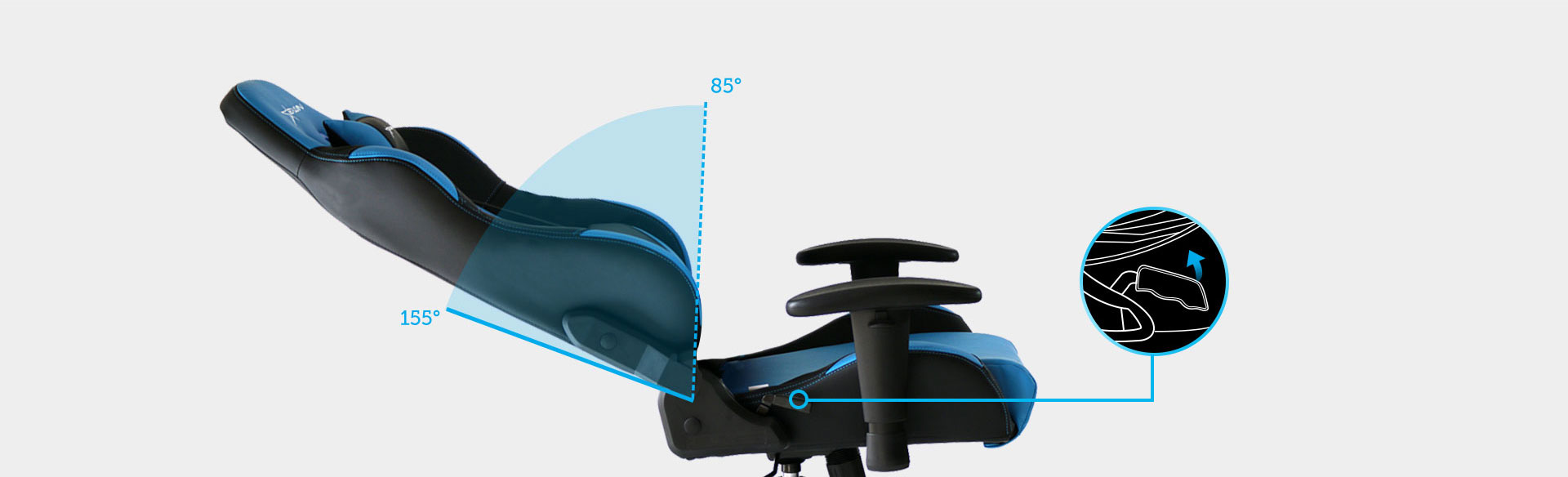 E-WIN Gaming Chair Backrest